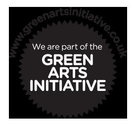 Green Arts initiative logo